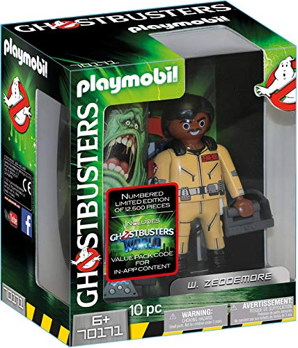 Playmobil Ghostbusters Edition Collector W. Zeddemore, 70171
