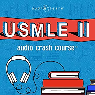 USMLE Step 2 Audio Crash Course     Complete Test Prep and Review for the United States Medical Licensure Examination Step 2 (USMLE II)              Written by:                                                                                                                                 AudioLearn Medical Content Team                               Narrated by:                                                                                                                                 Richard Daley                      Length: 20 hrs and 44 mins     Not rated yet     Overall 0.0