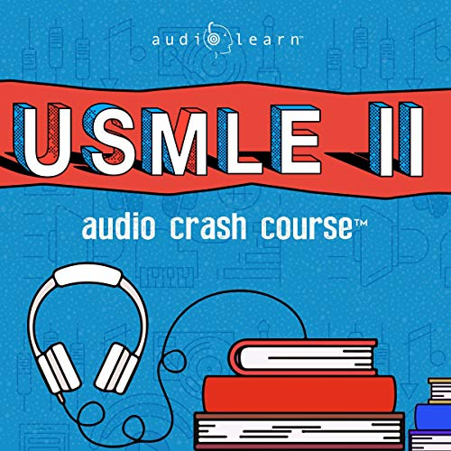 USMLE Step 2 Audio Crash Course     Complete Test Prep and Review for the United States Medical Licensure Examination Step 2 (USMLE II)              By:                                                                                                                                 AudioLearn Medical Content Team                               Narrated by:                                                                                                                                 Richard Daley                      Length: 20 hrs and 44 mins     1 rating     Overall 5.0
