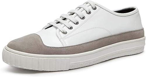 MSSugar Casual Loafers für Herren Wild Lace-up Bequeme, atmungsaktive Turnschuhe mit flachem Boden