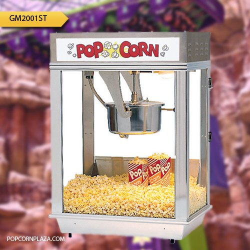 Purchase Gold Medal 2001ST Citation 16 oz. Popcorn Machine Stainless Steel