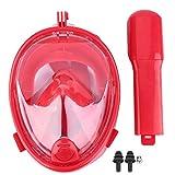 Schnorchelmaske Vollmaske für Erwachsene Kinder, Faltbare Tauchmaske Vollgesichtsmaske mit 180°...