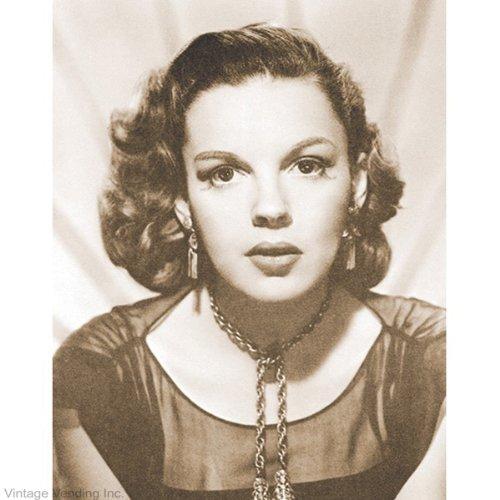 A Sepia Judy Garland Print (11 x 14 Framed Print)