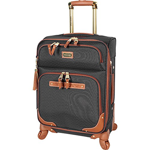 Steve Madden Designer Luggage Collection - Lightweight Softside Expandable...