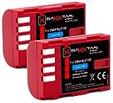 2 baterías extra compatibles GH5