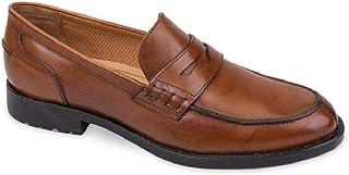 2952cefb748df5 Valleverde 49898 Mocassins Slipon Chaussures à Enfiler pour Hommes en Cuir  Caoutchouc Cuir