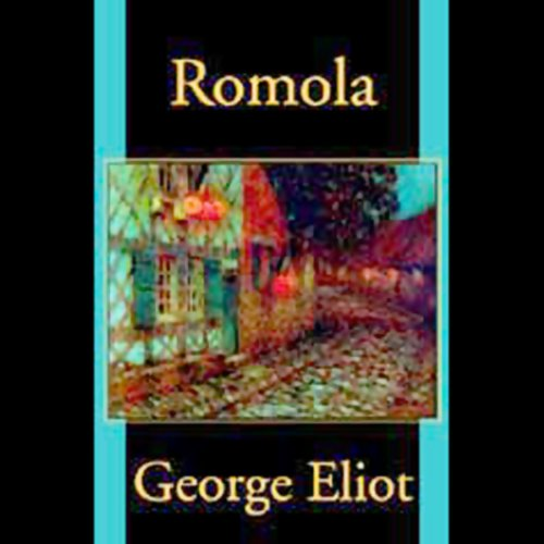 Romola                   By:                                                                                                                                 George Eliot                               Narrated by:                                                                                                                                 Nadia May                      Length: 21 hrs and 53 mins     2 ratings     Overall 3.0
