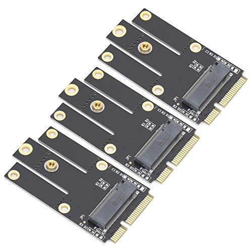 Tomanbery Tarjeta adaptadora M2 / NGFF a Pice Mini Placa adaptadora Bluetooth Convertidor de Intercambio en Caliente Duradero Accesorios de Red Compatible con WiFi inalámbrico para Tarjetas Bluetooth