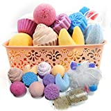 PURELIS BATH BOMB MIX GIFT SET 🛀 Our bath gift set contains a fantastic range of different Natural Bath Treats! Including Bath bombs in various shapes, sizes & scents; 2 Fortune Cookies Bath Bombs (with notes inside!), 2 Cupcake Bath Bombs (Cherry bl...