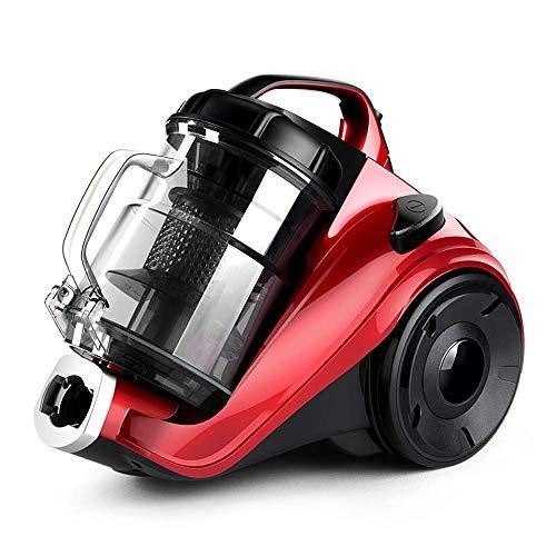 HNLSKJ Aspirador sin Cable Aspiradora - multifunción hogar de Alta Potencia Rojo pequeño 2.5L de Gran Superficie Aspirador Dormitorio, 35.7x24.8x28.8cm Potente Aspirador de Mano (Color: Rojo) ggsm