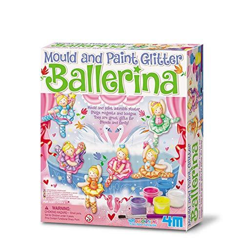 Juego de pintar y moldear yeso Bailarinas