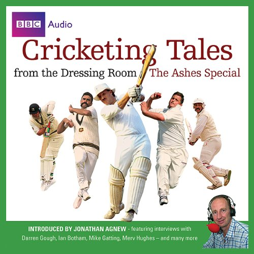 Cricketing Tales from The Dressing Room audiobook cover art