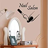 Manicure Wl364 Beauty Wohnzimmer Wall Decals Girl Bedroom Beauty Wohnzimmer Dekoration Beautiful...