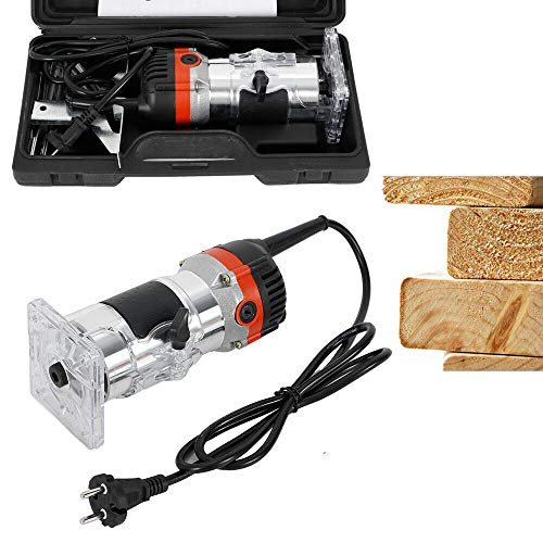 800W Oberfräse Electric Hand Trimmer...