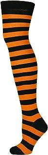 unisex sobre los calcetines de la raya de la rodilla