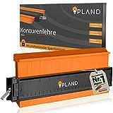 PLAND - Calibro per contorni, 25 cm, per contorni, calibro con blocco, profondità extra di misurazione, strumento di misurazione e pianificazione, forma duplicatore, lehre contorni, calibro grande