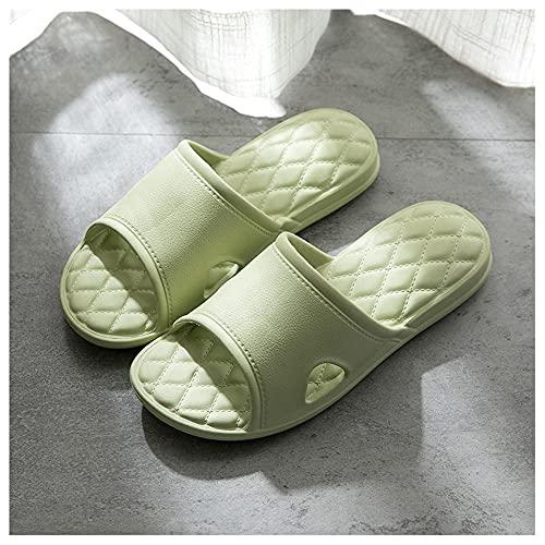 CYN Zapatillas para Ducha Mujer Chanclas, Zapatillas de baño Espesor eva Suave hogar Zapatillas de Interior Verano-Verde_36EU-37EU