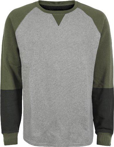 Levi´s Sweatshirt Line grau/grün XL