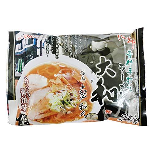 栃木 佐野ラーメン大和監修 あっさり醤油2食×8P マルニ食品