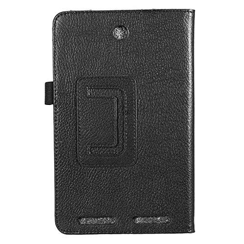 ZJYSM PU Leather Case Fold Stand Cover For 7' Acer Iconia Tab A1 713 (Color : Black)