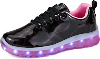 Dannto Kids Led Light Up Shoes USB Charging Boys Girls Flashing Fashion Sneakers