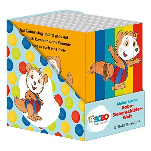 Meine kleine Bobo-Siebenschläfer-Welt (Würfel): 6 Mini-Bücher (Pappbilderbuch Bücher-Würfel, Band 10)