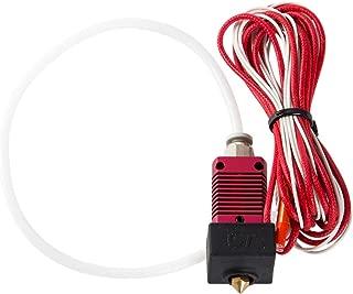 Creality Original 3D Printer Extruder Assembled MK8 Hot End Kit for Ender 3/Ender 3 Pro with Aluminum Heating Block, 1.75mm, 0.4mm Nozzle