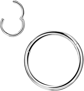 Best seamless lip ring 16g Reviews