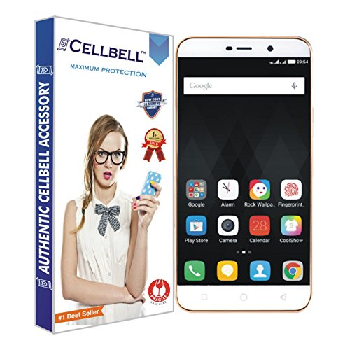 CELLBELL Shatterproof, Glossy-Finish Screen Protector for Cool pad Note 3 Lite - Transparent