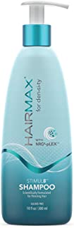 HairMax Density Stimul8 Shampoo. Scientifically Formulated for Thinning Hair.