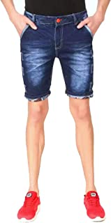 KART TRADE Denim Jeans Half Short Pant for Boys/Men