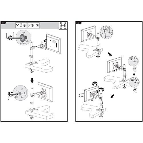 SAVONGA – 522201L Monitor Halterung (13″ bis 30″) - 8