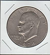 1974 Eisenhower (1971-1978) $1 Choice About Uncirculated Details