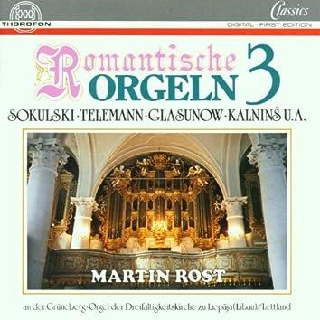 Romantische Orgeln Vol. 3