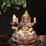 XiaoHeJD Quemador de Incienso de sándalo de Elefante de Estilo sudeste asiático, decoración Artesanal para el hogar, A