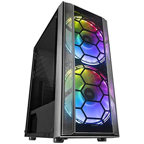 PC Gaming Ordenador de sobremesa Megamania AMD Ryzen 5 3500X 4.1GHz Turbo Six Core   16GB DDR4   SSD 480GB   Gráfica AMD Radeon RX550 4GB   WiFi 1200MPS