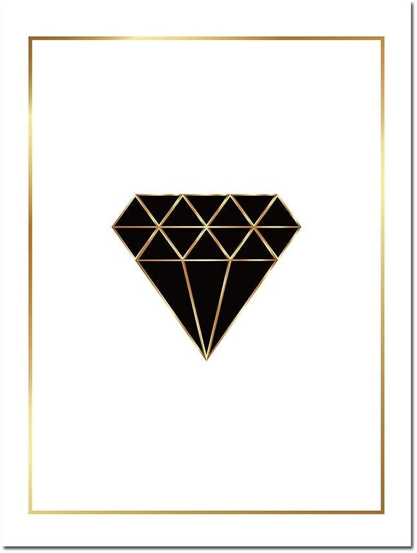 barato en alta calidad ZSHSCL Carteles De Arte De De De Parojo De Diamantes Diamantes Impresiones Pintura Abstracta Cuadro Decorativo para Habitación De Niños, 15X20 Pulgadas Sin Marco, Imagen 1  envio rapido a ti