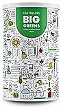 Big Greens Superfood Pulver | 600 g | 20+ Superfoods perfekt kombiniert wie Gerstengras, OPC, Acerola, Reishi, Chlorella | vegan, ohne Laktose & Soja | HERGESTELLT IN DEUTSCHLAND |...