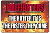 Rogue River Tactical Funny Firefighter Metal...