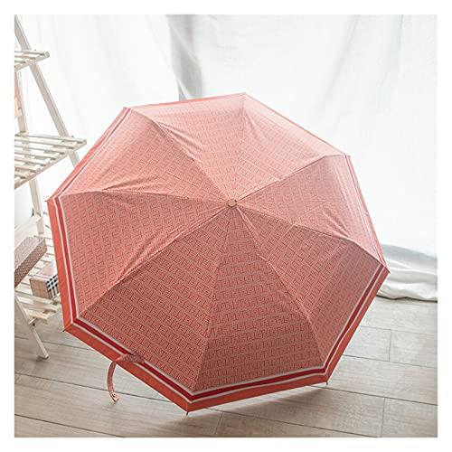 LYB Umbrella Caja De Regalo De Paraguas De Alta Gama con Una Variedad De Estilos para Elegir El Paraguas De Vinilo Automático (Color : 4)
