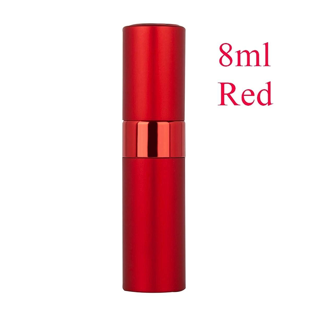 クライアント並外れてダンプ旅行、8MLレッドノーロゴのために香りポンプ空の化粧品容器スプレーアトマイザーボトルで5ミリリットル8ミリリットル20mlのポータブルミニ詰め替え香水瓶
