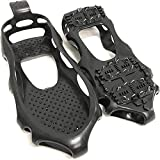 24 Tooth Ice Snow Cleats, Ice Grips Crampons Snow Non-slip Shoe Cover, Walk Traction Cleat for Walking on Snow and Ice