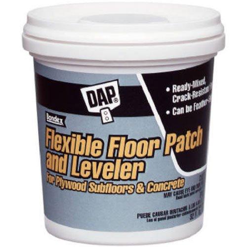 DAP GIDDS-1030404 Flex Floor Patch & Leveler Flexible Grey, 1 Gallon-1030404, Light Gray