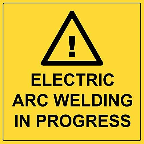 BCTS Señal de advertencia de soldadura por arco eléctrico en curso de...