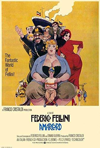 Amarcord 11 x 17 Movie Poster