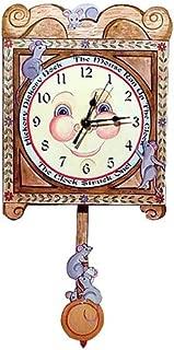 Modern Artisans Hickory Dickory Dock Pendulum Clock