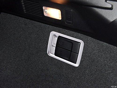 ABS Chrome en Plastique Arrière De La Voiture Arrière Rangée Bouton Bouton Cadre Couverture Couverture pour RX200 450 2015 2016