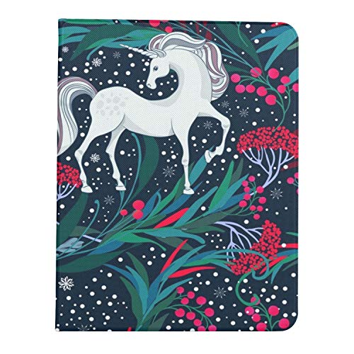 All-New Soft TPU Back Cover Case for iPad Pro 11 2020/2018 with Pencil Holder - Full Body Protection and Auto Wake/Sleep,Fairy Magic Unicorns