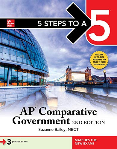 Compare Textbook Prices for 5 Steps to a 5: AP Comparative Government 2 Edition ISBN 9781260467123 by Bailey, Suzanne