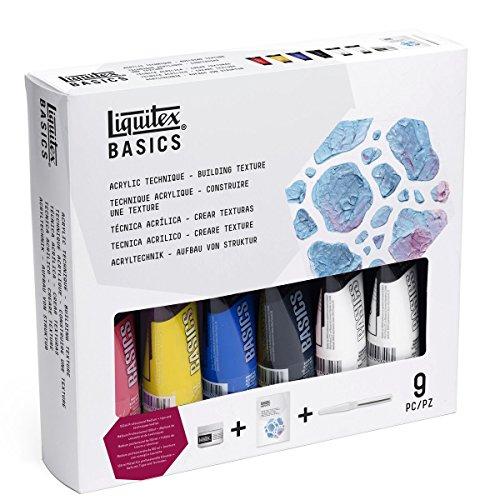 LIQUITEX Basics Acrylic Paint Technique Set